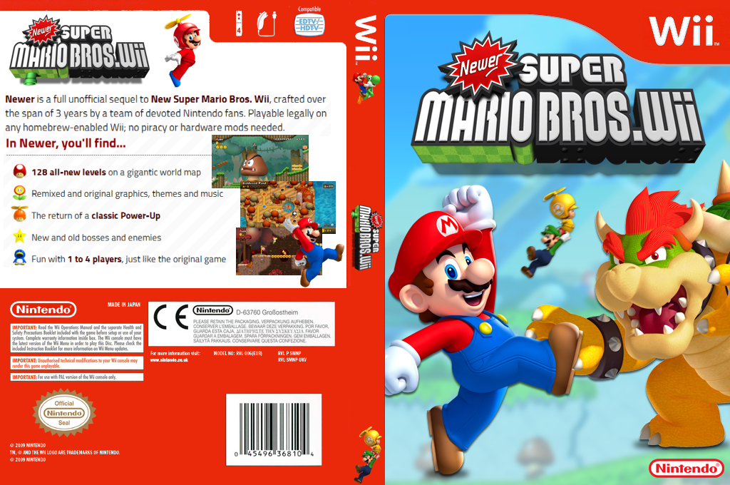 Newer Super Mario Bros Wii Sofasr